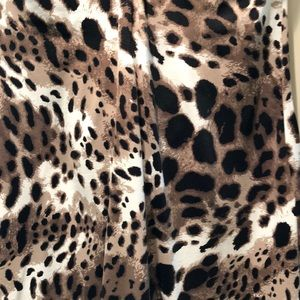 Tommy Bahama Dresses - Strapless leopard dress